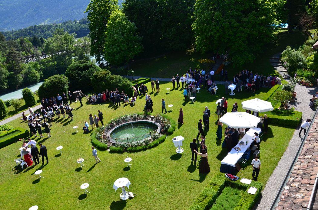 Apéro-Location im Schlosspark