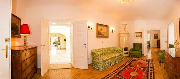 Beispiel: Garten Salon, Foto: Schloss Urschendorf.