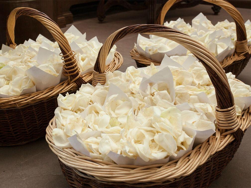 Beispiel: Blumendekoration, Foto: Gammacatering.