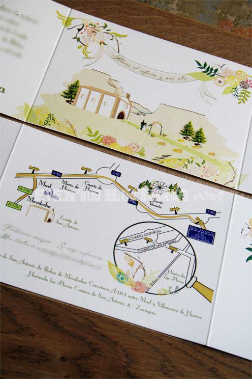 Eventos Ilustrados Invitaciones