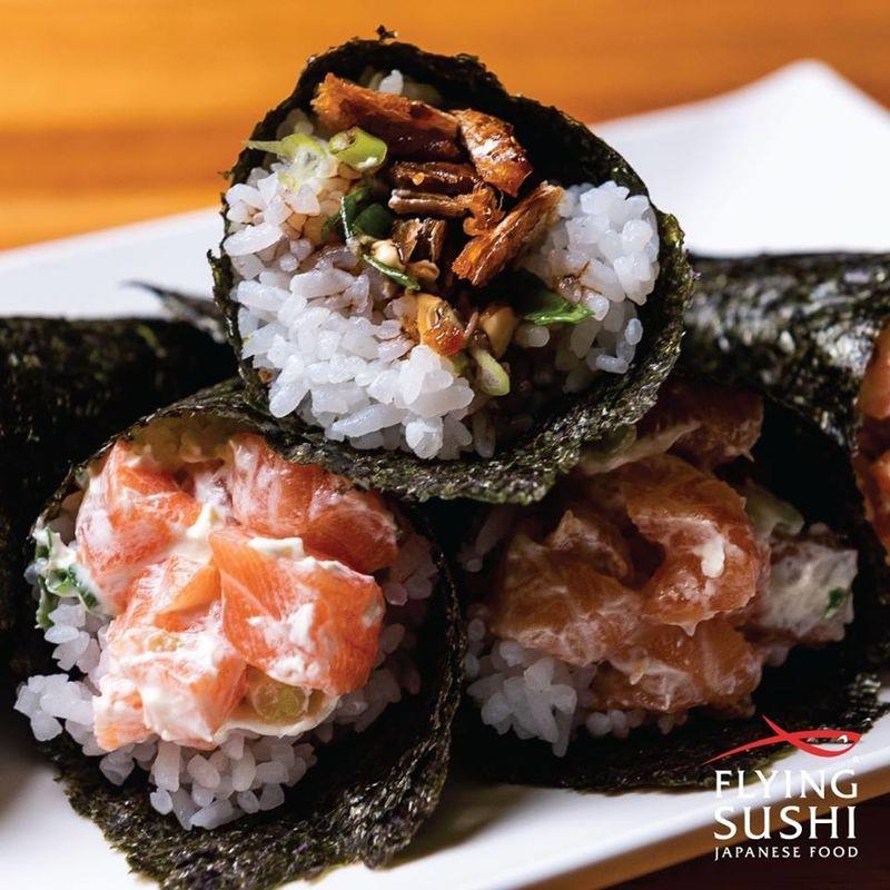 Flying sushi santana