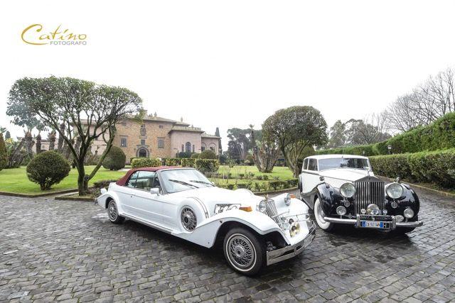 Macchine d'epoca in Villa