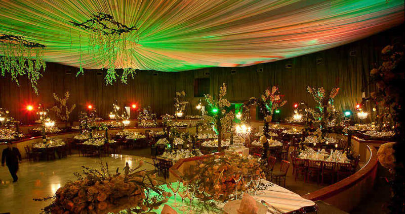 Decoración floral para bodas. Foto: Giverny Florería