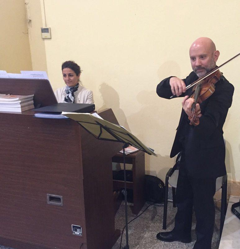 violino e organo per la cerimonia www.dejavumusica.it