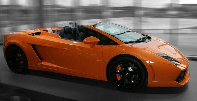 Beispiel: Lamborghini, Foto: Xclusivecars.