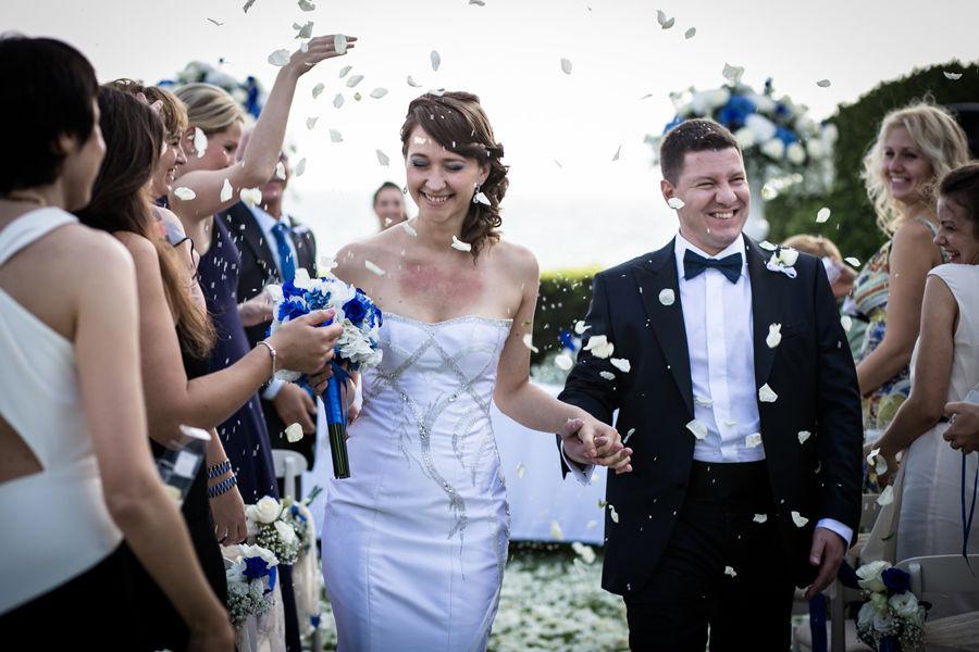 Russian wedding in Rome
