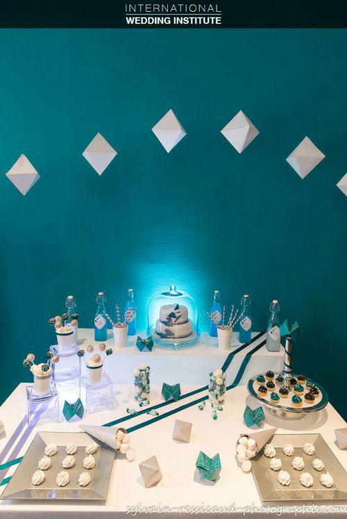 Beispiel: Kreative Ideen für Ihre Hochzeit, Foto: International Wedding Institute.