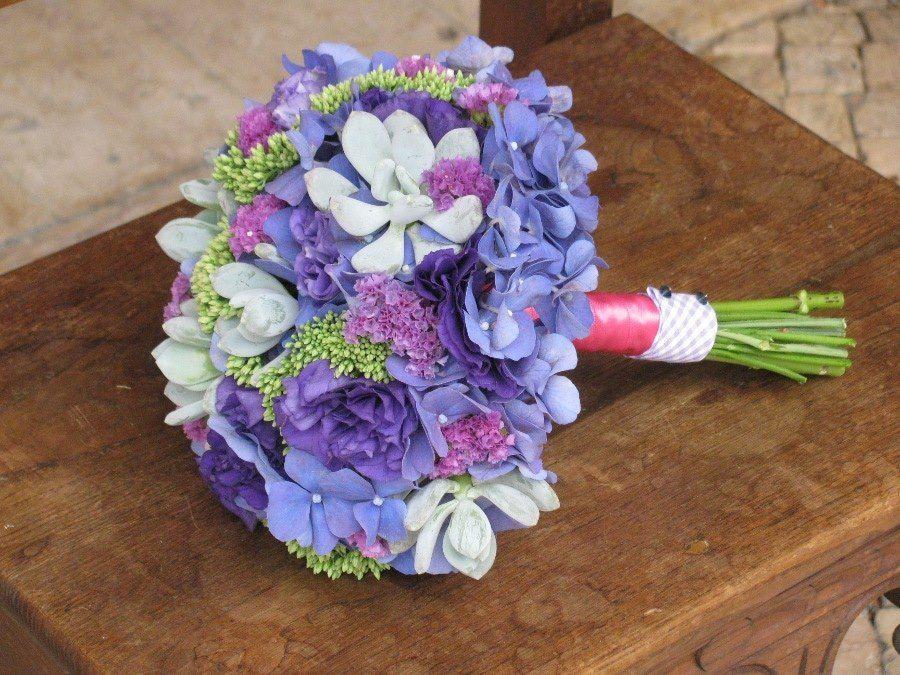 Bouquet de Noiva Hortense Azul