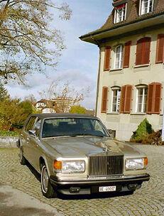 Beispiel: Original britische Limousine, Foto: Roger's Limousinenservice.