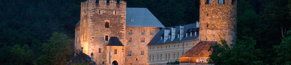 Beispiel: Burgansicht, Foto: Burg Deutschlandsberg.