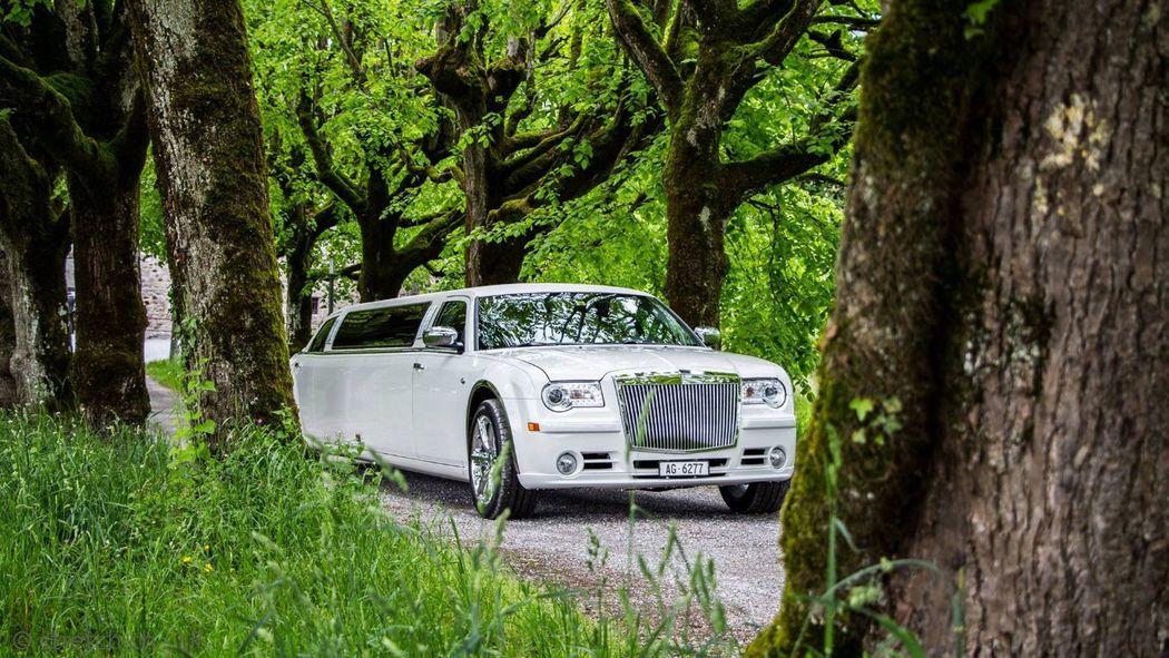 Chrysler Limousine mieten für Hochzeitenh