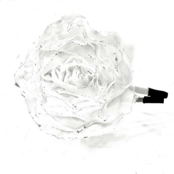 Arya Italian Jewels - Accessori Acconciatura matrimonio - Cerchietto Sposa con fiore