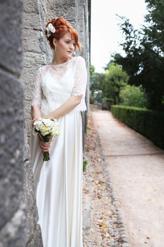 Kaa Couture modèle robe de mariée ANNA, ADELE et BARBARA