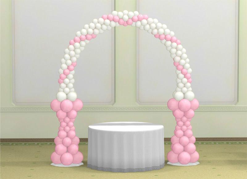 Beispiel: Dekorationsidee, Foto: Ballons & Ballons.