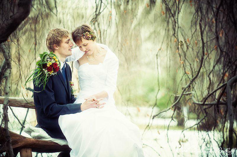 Beispiel: Romantische Hochzeitsfotos, Foto: Photodesign Radloff.