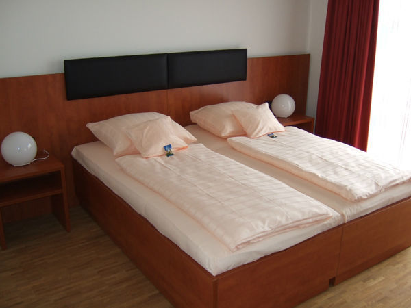Beispiel: Zimmer, Foto: Centrum für Freizeit und Kommunikation.
