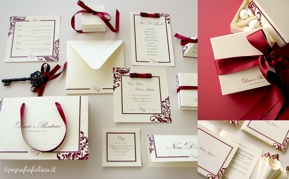 Tipografia Falisca Wedding Design