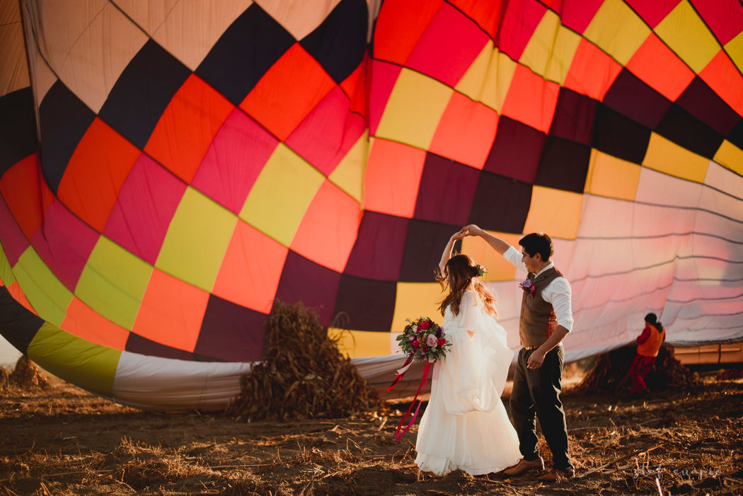 Balloon Wedding - Globos Aerostáticos