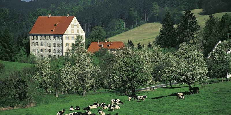 Beispiel: Außenansicht, Foto: Schloss Achberg.