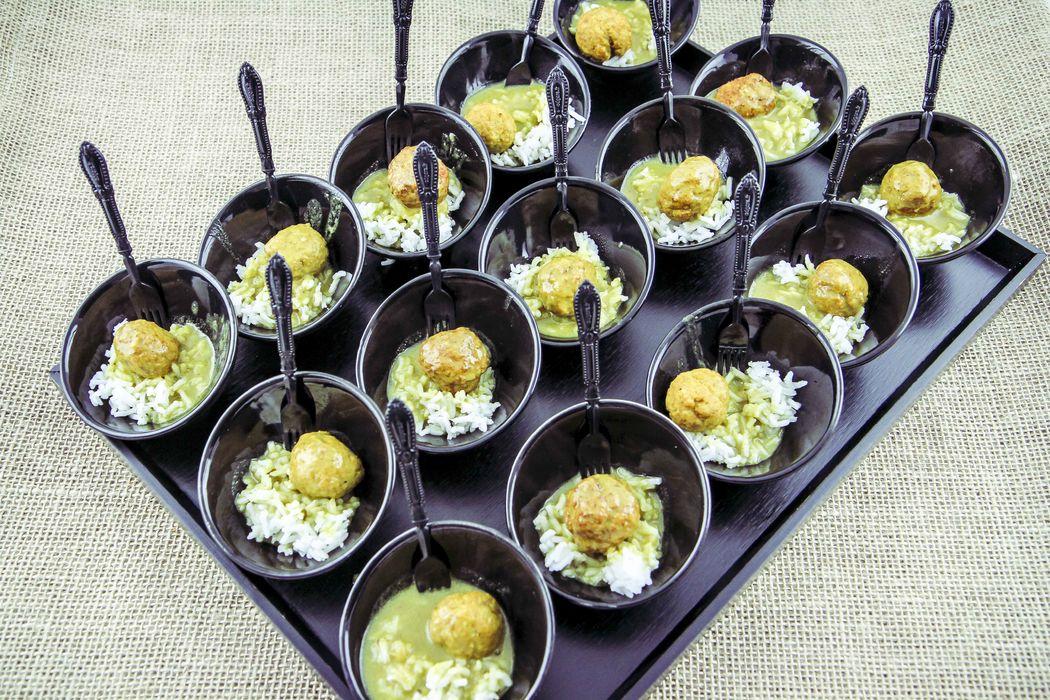 Cucharita del Chef AGA Catering de Gourmet