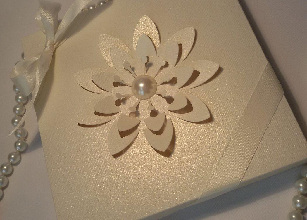 Partecipazione di Matrimonio mod. in Box