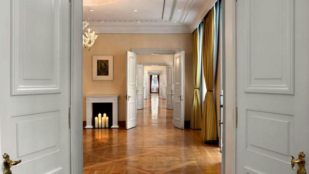 Beispiel: Innenraum - Flur, Foto: Hotel Taschenbergpalais Kempinski.