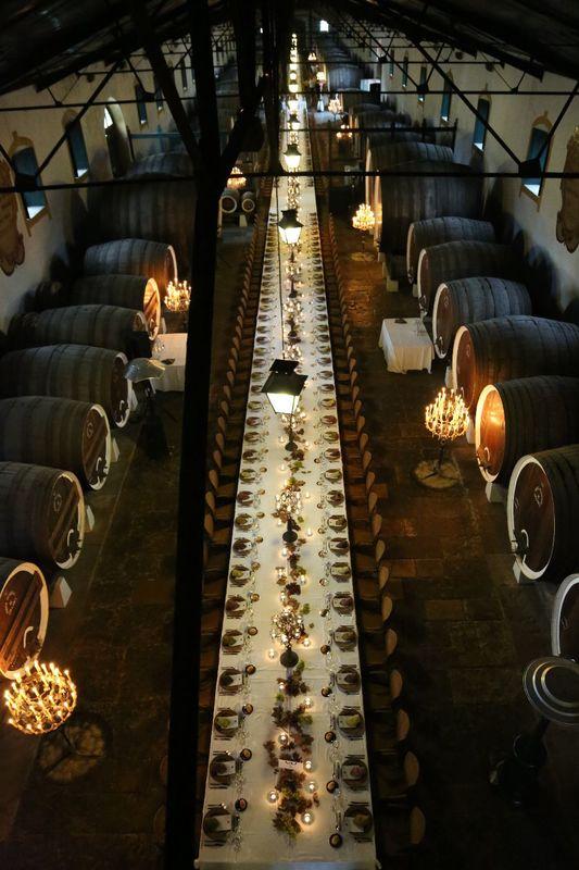 Adega regional de colares casamentos for Cost to build a wine cellar