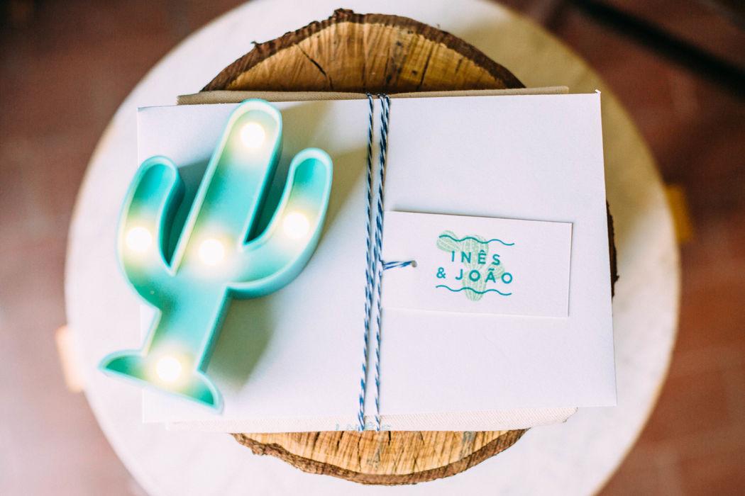 Ines&Joao | Wedding Stationery Carta 100% cotone Gmund Cotton Linen Cream 600g/m  Stampa Letterpress due colori