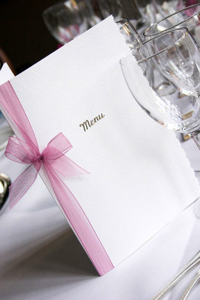Hübsche Menükarten, Foto: Ihre Hochzeitsplanerin