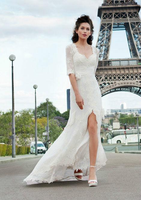 Beispiel: Cymbeline Paris, Foto: La Donna Brautmoden.