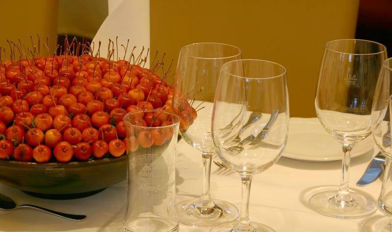 Beispiel: Tischdekoration, Foto: Altes Zollhaus.
