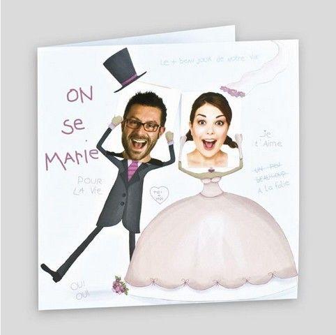Faire-part Mariage Regalb