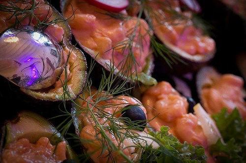 Beispiel: Exquisite Speisen für Ihre Hochzeitsgäste, Foto: A-Z Erftland Partyservice.