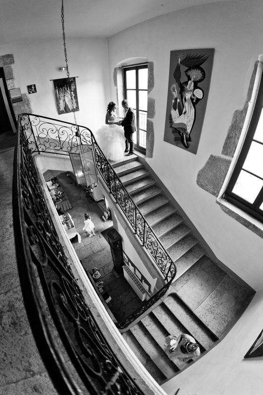 Préparatifs au Château