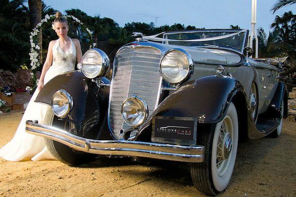 CA011 1933 Lincoln Dual Cowl