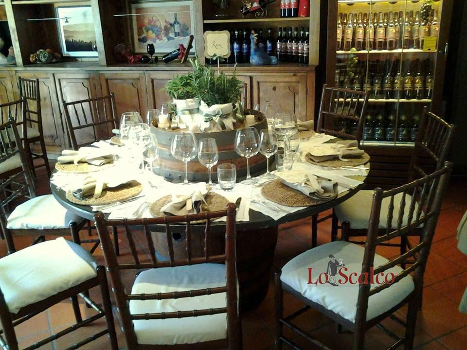 Lo Scalco catering ricevimenti Firenze Tavolo country