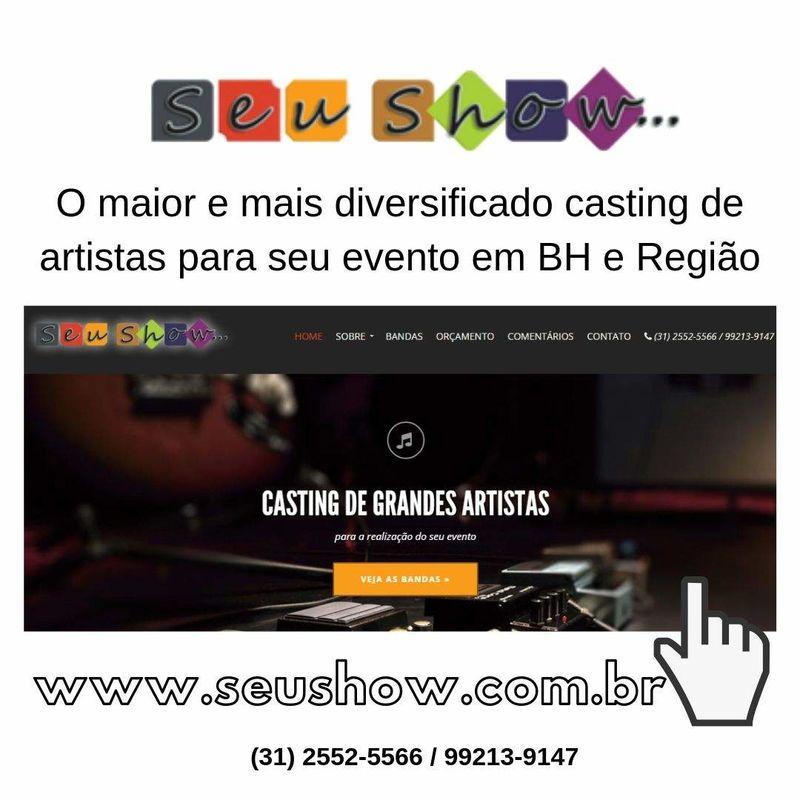 Seu show | Casting de Artistas para seu evento