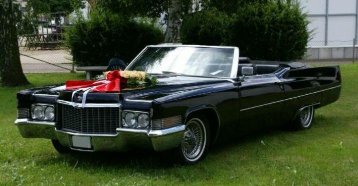 Beispiel: Cadillac, Foto: FUN-LIMOS Limousinenservice & Chauffeurdienst.