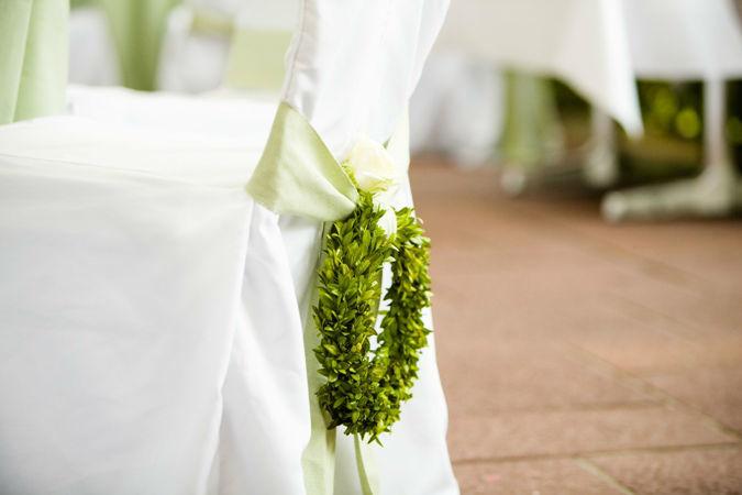 Beispiel: Kreative Dekoideen, Foto: Wedding and Dreams.
