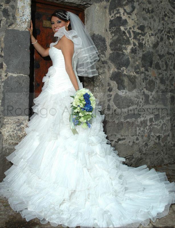 La novia es nuestra mejor modelo estrella