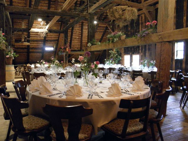 Hochzeitsgedeck, Foto: Henslerhof