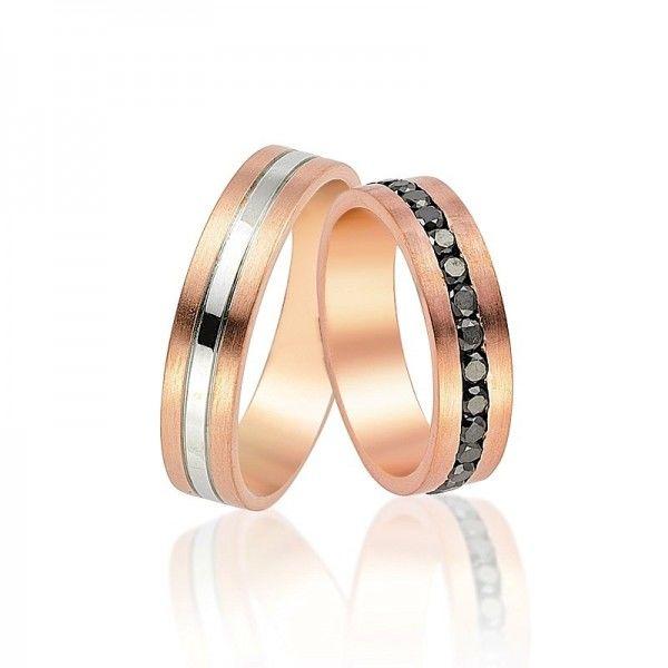 Beispiel: Trauringe - Rotgold, Foto: Juwelier Goldfee.