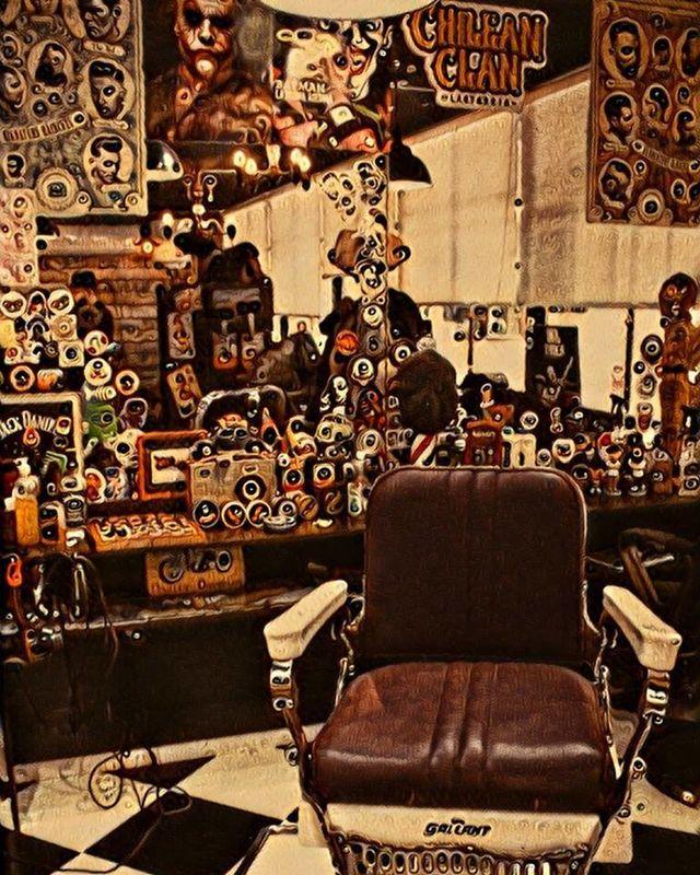 Chilean Barber Lastarria