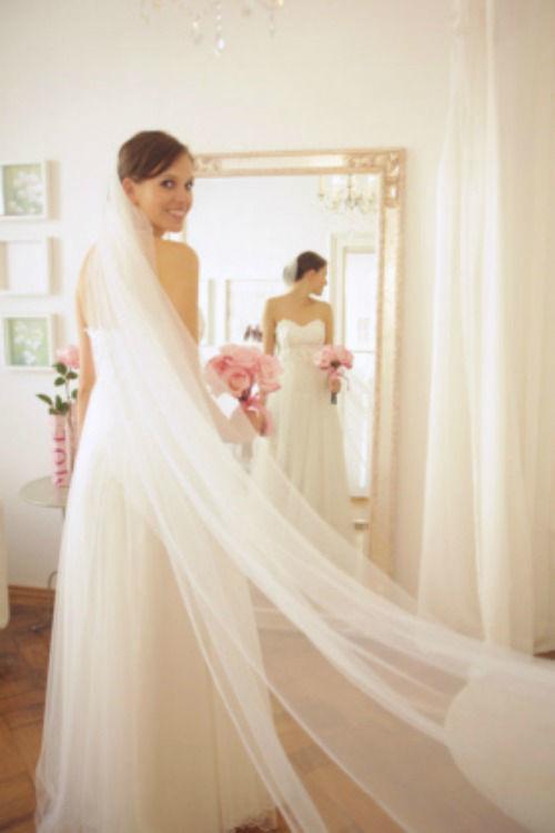 Beispiel: Brautkleid, Foto: