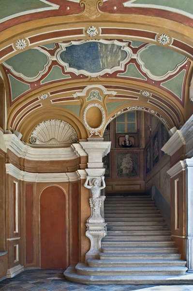 Villa Bria - Parte della Scalinata