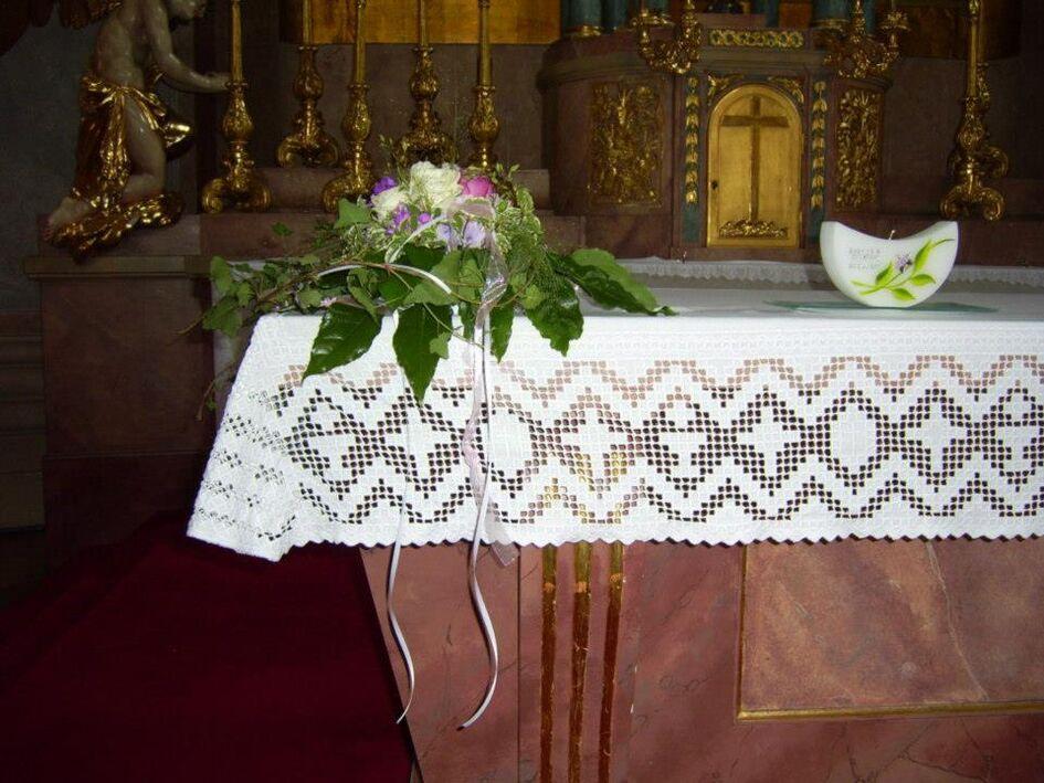 Beispiel: Kirchenschmuck, Foto: Gartencenter Burgenland.