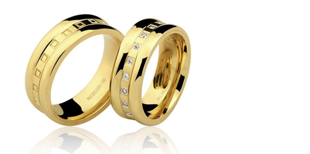 Linha  especial de alianças de noivado e casamento!