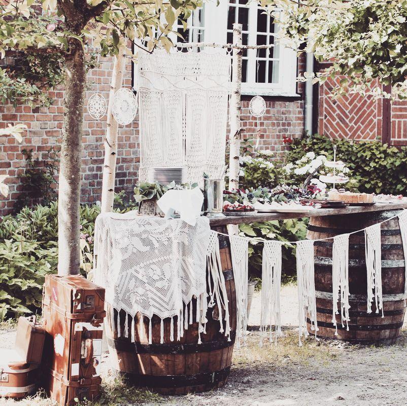 BoHo Hochzeit / Waldhof auf Herrenland