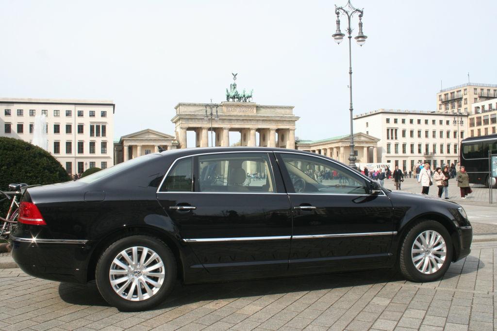 Beispiel: Das Brautauto in Berlin, Foto: BBI Limousine.