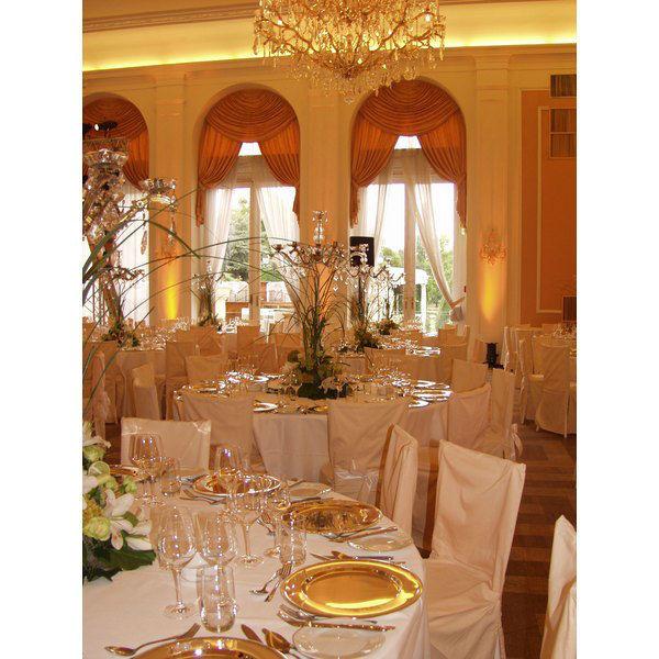 Beispiel: Hochzeitsbankett, Foto: Kursalon Wien.
